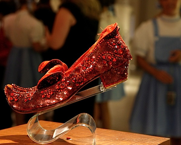 Fashion Week Ruby Slippers