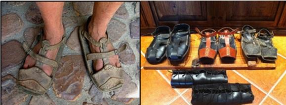 477c3867 Zueco, zapato de madera. Se usan en muchas provincias de España, los Países  Bajos y Suecia.