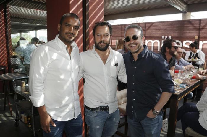 Jean Duverger, Felipe Ibarra y Raul Contreras