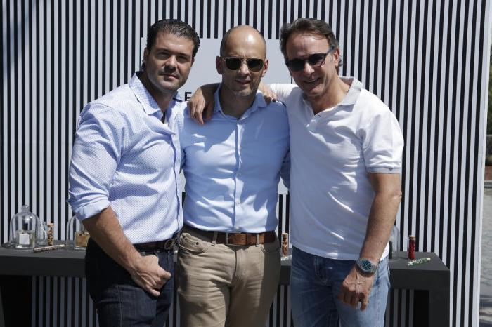 Luis Alarcon, Antonio Castañeda y Marco Beteta